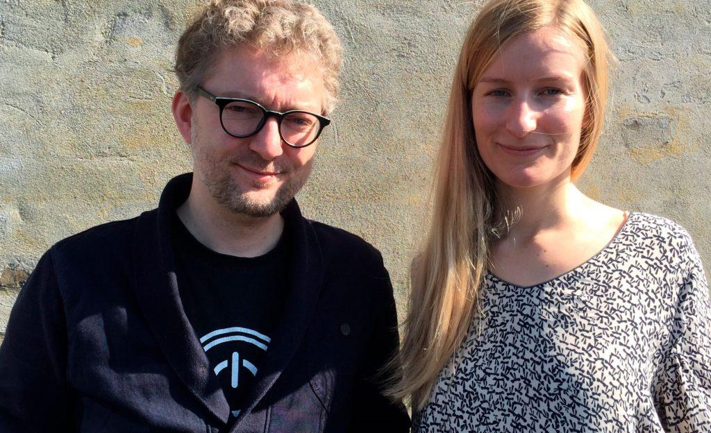Stinne Andreasen og Kim Schou
