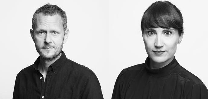 Dokumentarist Janus Køster-Rasmussen og Journalist Camilla Stockmann, Foto: Gyldendal