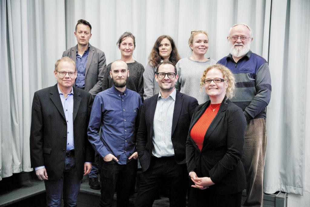 Den nye bestyrelse / Foto: Anette Sønderby Madsen