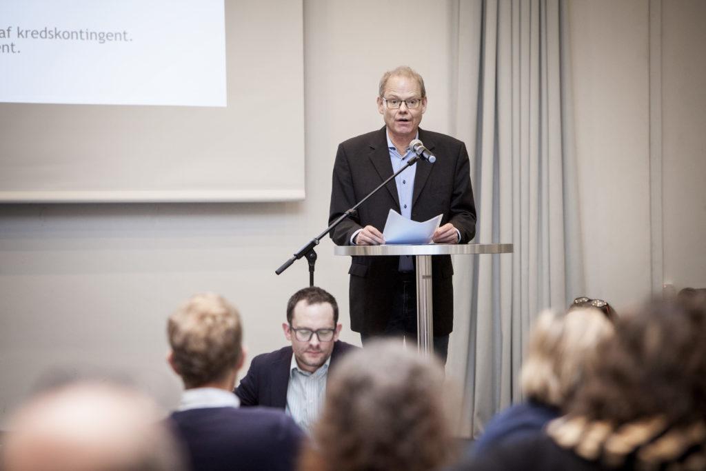 Frederik Monrad Juel afgiver beretning / Foto: Anette Sønderby Madsen