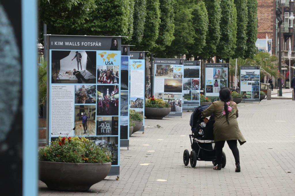 Billedet viser udstillingen som den så ud i Trelleborg, Sverige. Fotograf: Joachim Wall.