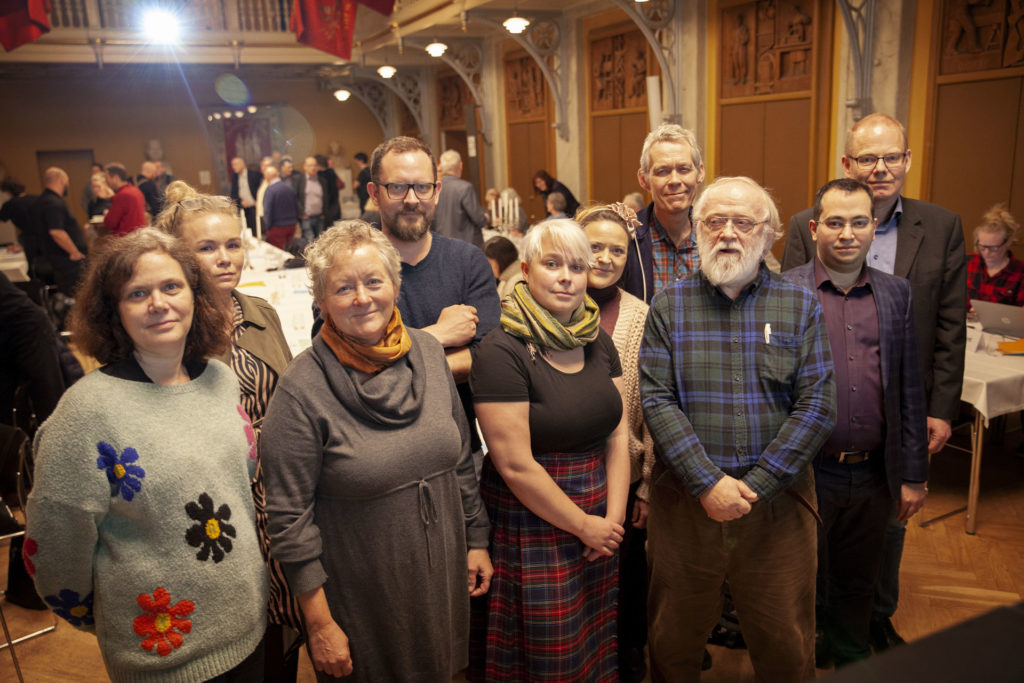 Den samlede bestyrelse efter valget. Foto: Anette Sønderby Madsen