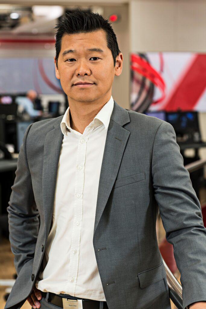 Nyhedschef Jakob Kwon, TV2. Foto: TV2