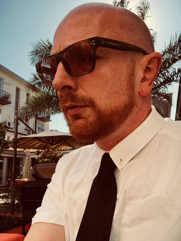 Programchef Mads Brügger / Privatfoto