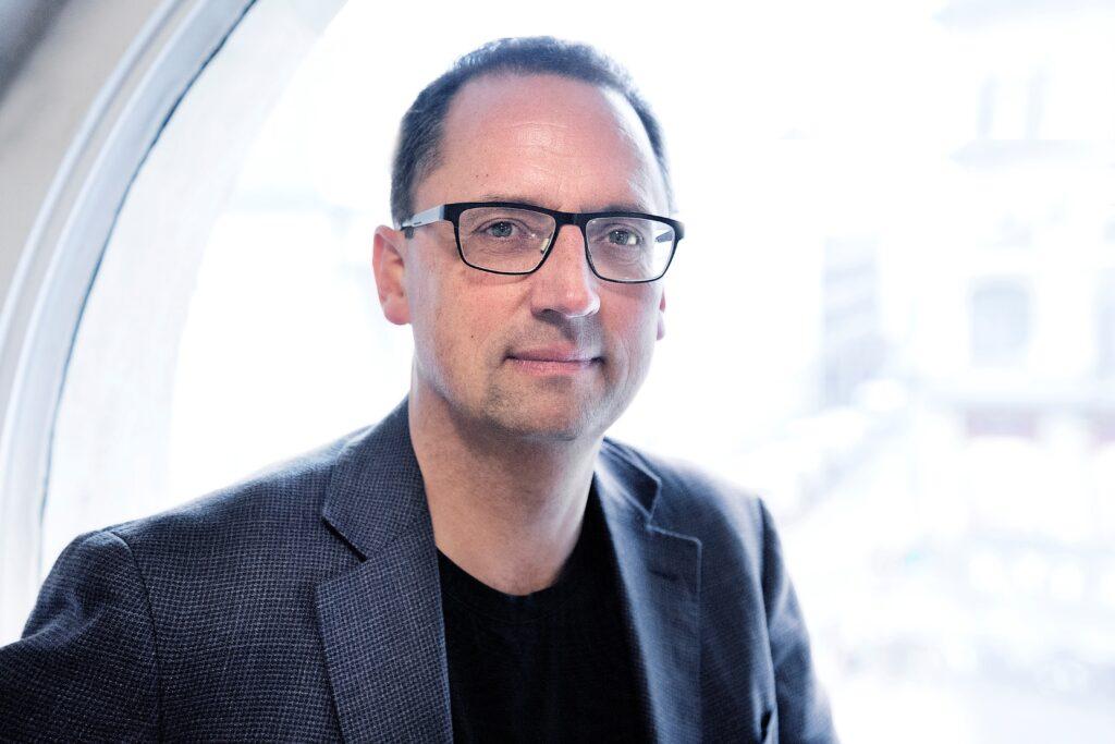 Direktør Morten Hesseldahl, Gyldendals Forlag, Foto: Privat