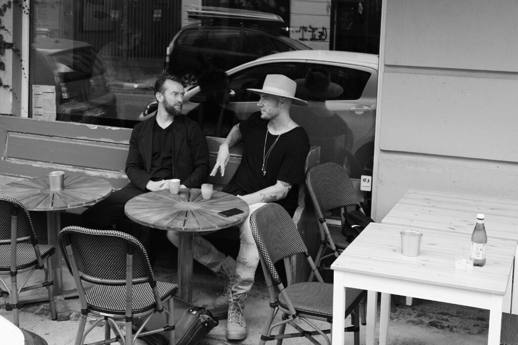 Rune Skyum-Nielsen og Nicklas Bendtner // Fotograf: Rasmus Weng Karlsen