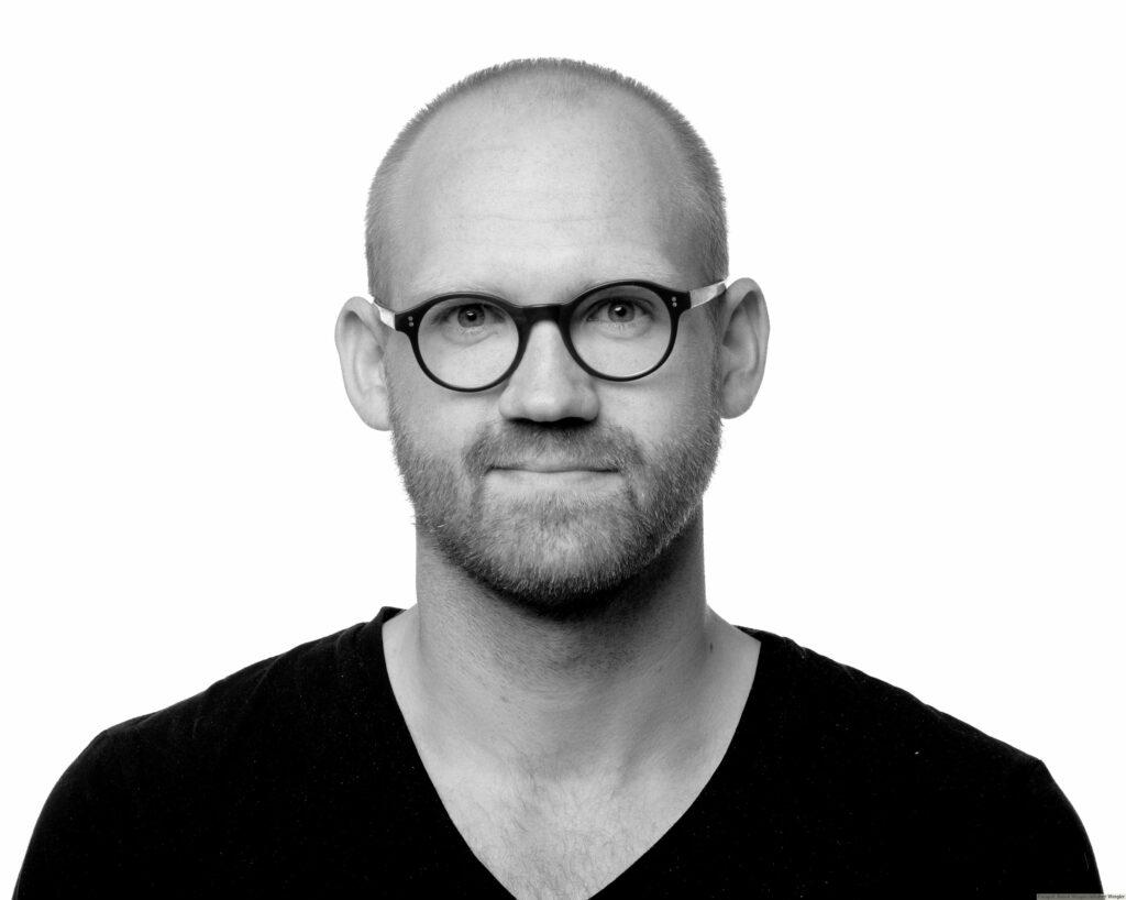 Redaktør Rune Heidtmann, Jysk Fynske Medie, Foto: Robert Wengler
