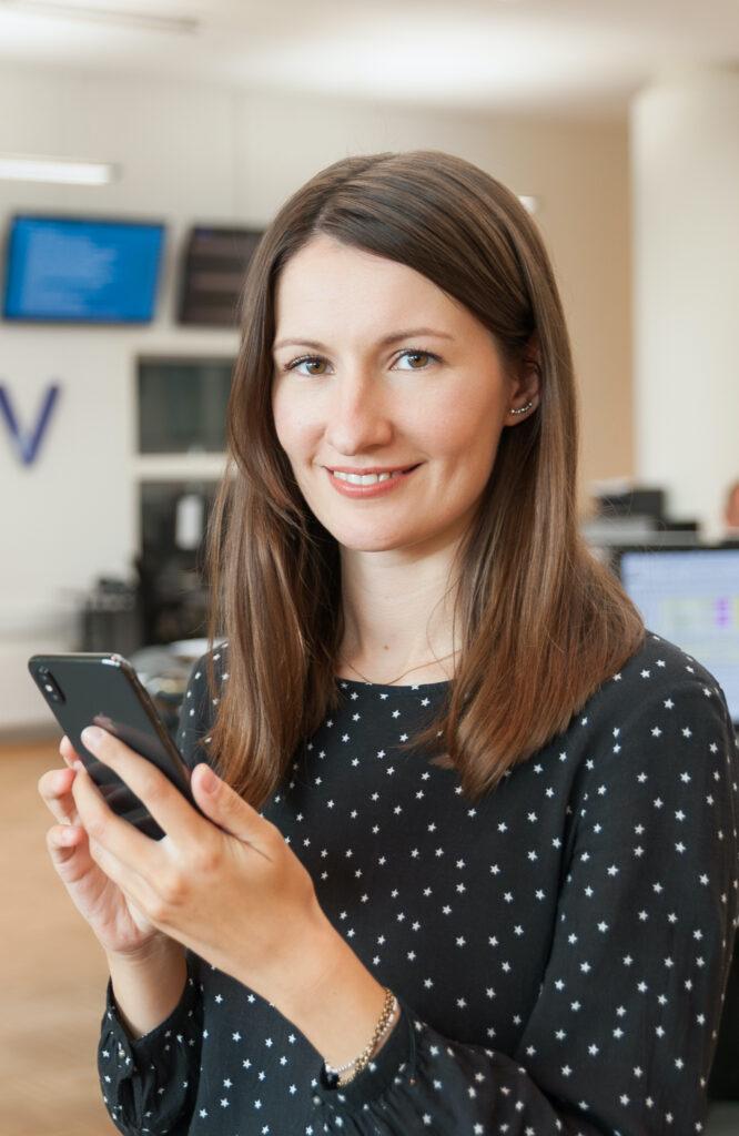 Digital rådgiver og ekspert i sociale medier Nadia Nikolajeva. Foto: Palle Mouritzen