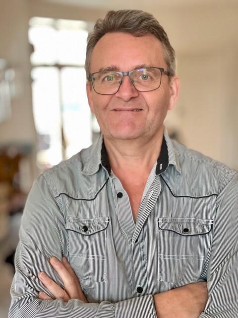 Fotograf og klipper Peter Bak. Foto: Privat