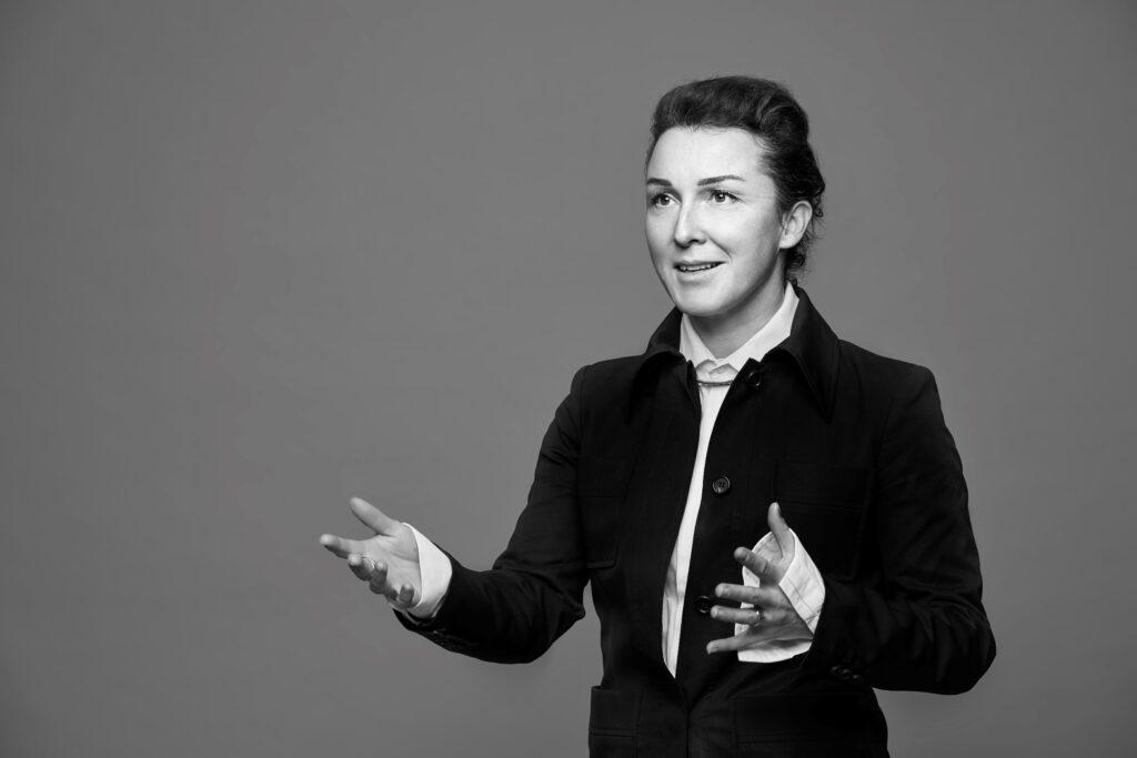 Journalist Cathrine Gyldensted, Foto: Robin Skjoldborg
